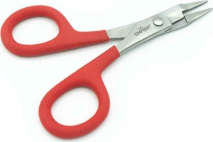 Umpqua RiverGrip Debarb Plier, Red
