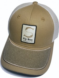 Salmologic Cap, Trucker Fly Box