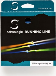 Salmologic Running Line Coated 0.028, Fluo Yellow