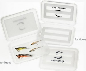 Salmologic Fly Box, for Tubes