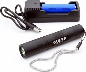 Gulff Pro UV Flashlight 365nm/3w